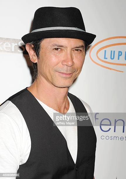 Actor Lou Diamond Phillips attends the Stars Get Lucky For Lupus 6th Annual Poker Tournament at Avalon on September 18 2014 in Hollywood California