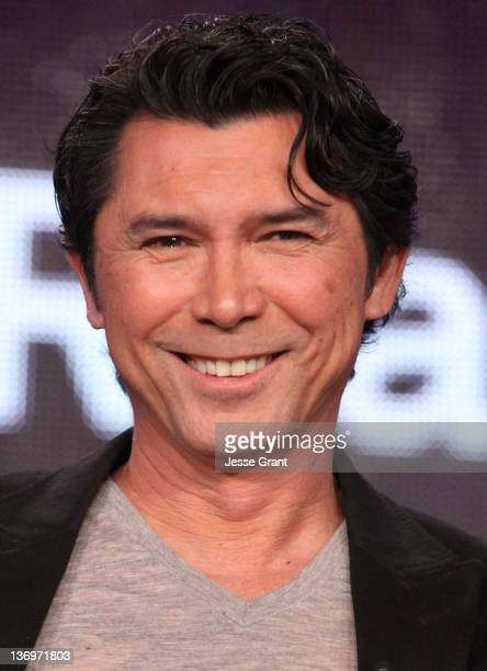 """Actor Lou Diamond Phillips attends the TCA Panel for A&E Network's New Scripted Drama Series """"Longmire"""" at the Langham Hotel on January 13, 2012 in..."""