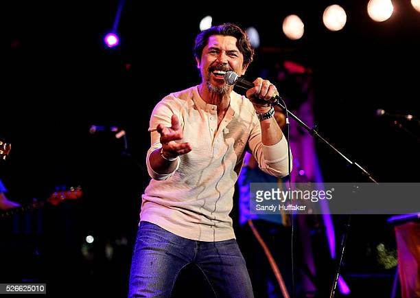 "Actor Lou Diamond Phillips made a surprise appaearance to sing ""La Bamba"" during a Kids New Years Eve celebration at Legoland California on Tuesday,..."