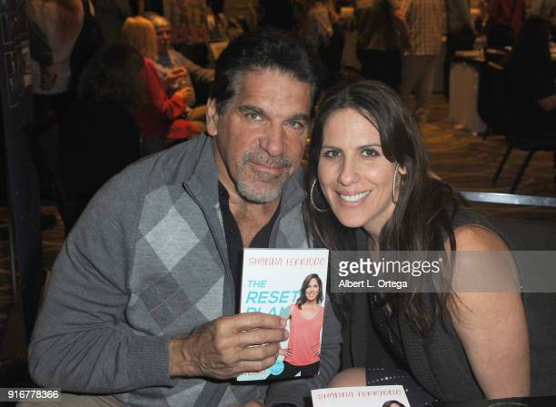 Actor Lou Ferrigno and daughter Shauna Ferrigno attend The Hollywood Show held at Westin LAX Hotel on February 10 2018 in Los Angeles California