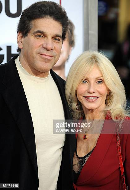 Actor Lou Ferrigno and his wife Carla arrive at the premiere of I Love You Man held at Mann's Village Theater on March 17 2009 in Westwood California...