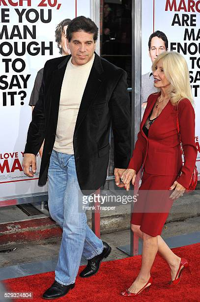 Actor Lou Ferrigno and wife arrive at the premiere of I Love You Man held at Mann's Village Theater in Westwood