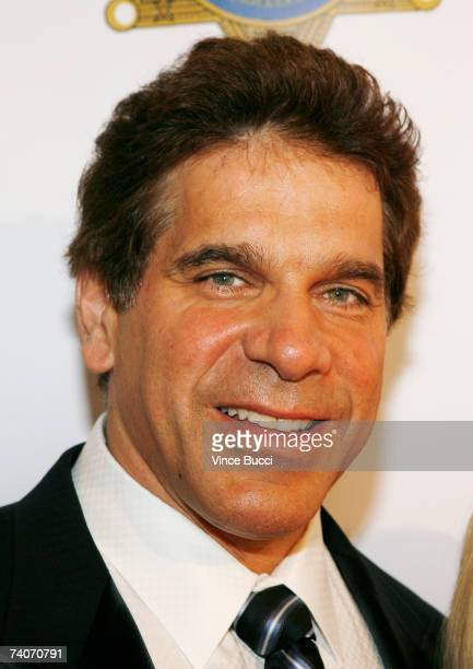 Actor Lou Ferrigno and wife attend the Los Angeles County Sheriff's Youth Foundation's annual Salute To Youth benefit dinner honoring producers Jon...