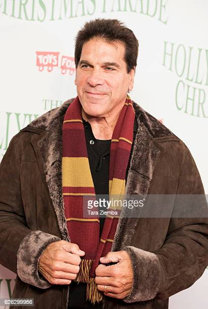 Actor Lou Ferrigno arrives at the 85th Annual Hollywood Christmas Parade on November 27 2016 in Hollywood California