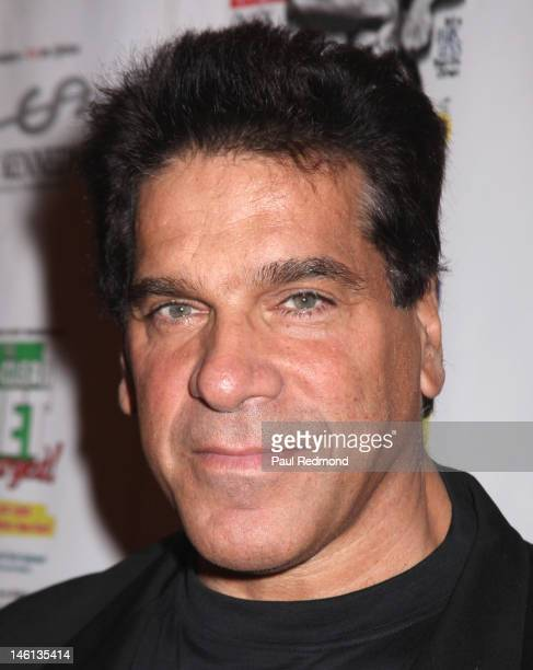 """Actor Lou Ferrigno attends """"Celebration Of Life"""" Honoring Fitness Publishing Icon Robert """"Bob"""" Kennedy at The Casa Del Mar Hotel on June 10, 2012 in..."""