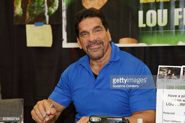 Actor Lou Ferrigno attends day one of the Wizard World Austin Comic Con at the Austin Convention Center on November 22 2013 in Austin Texas