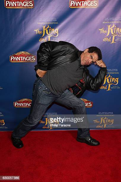 Actor Lou Ferrigno attends Opening Night of The Lincoln Center Theater's Production of Rodgers and Hammerstein's The King and I at the Pantages...