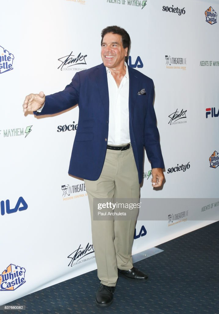 Actor Lou Ferrigno attends the 'Extraordinary: Stan Lee' event at The Saban Theatre on August 22, 2017 in Beverly Hills, California.