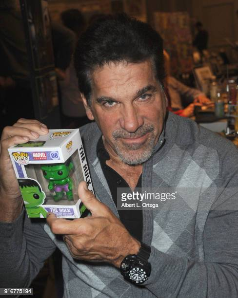 Actor Lou Ferrigno attends The Hollywood Show held at Westin LAX Hotel on February 10 2018 in Los Angeles California