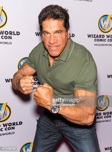 Actor Lou Ferrigno attends the launch party for Wizard World Comic Con at Hard Rock Cafe on May 6 2015 in Philadelphia Pennsylvania