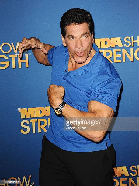Actor Lou Ferrigno attends the MDA Labor Day Telethon at CBS Studios on August 7 2012 in Los Angeles California