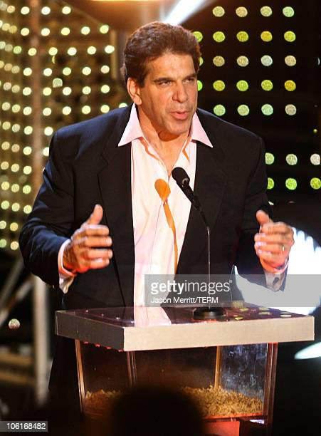 Actor Lou Ferrigno on stage during the 2007 Spike TV Scream Awards at The Greek Theater on October 19, 2007 in Los Angeles, California.