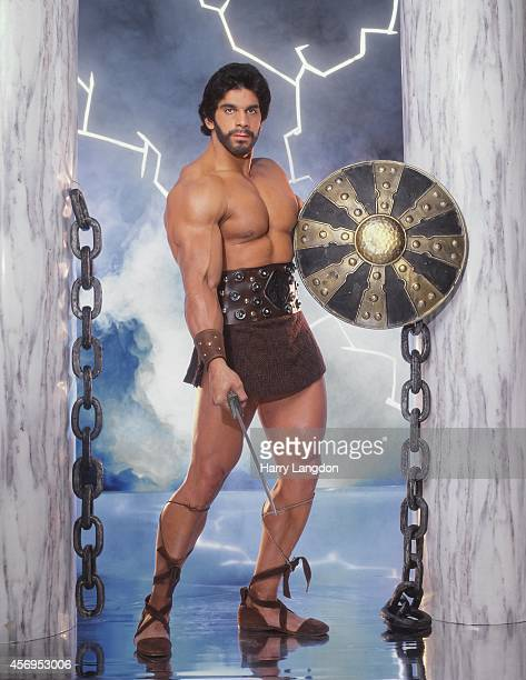 Actor Lou Ferrigno poses for a portrait in 1990 in Los Angeles California
