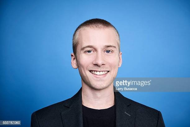 Actor Lou Taylor Pucci poses for a portrait at the Tribeca Film Festival on April 17 2016 in New York City