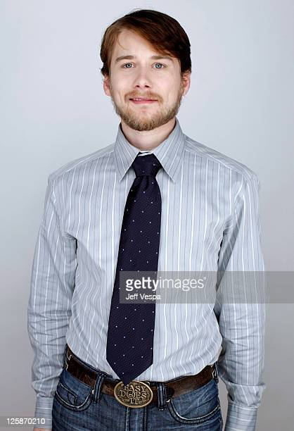 Actor Lou Taylor Pucci poses for a portrait during the 2011 Sundance Film Festival at the WireImage Portrait Studio at The Samsung Galaxy Tab Lift on...