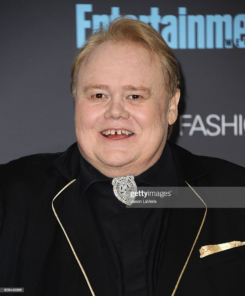 Actor Louie Anderson poses in the press room at the 22nd annual Critics' Choice Awards at Barker Hangar on December 11, 2016 in Santa Monica, California.