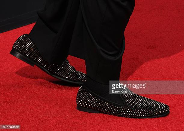 Actor Louie Anderson shoe detail attends the 68th Annual Primetime Emmy Awards at Microsoft Theater on September 18 2016 in Los Angeles California