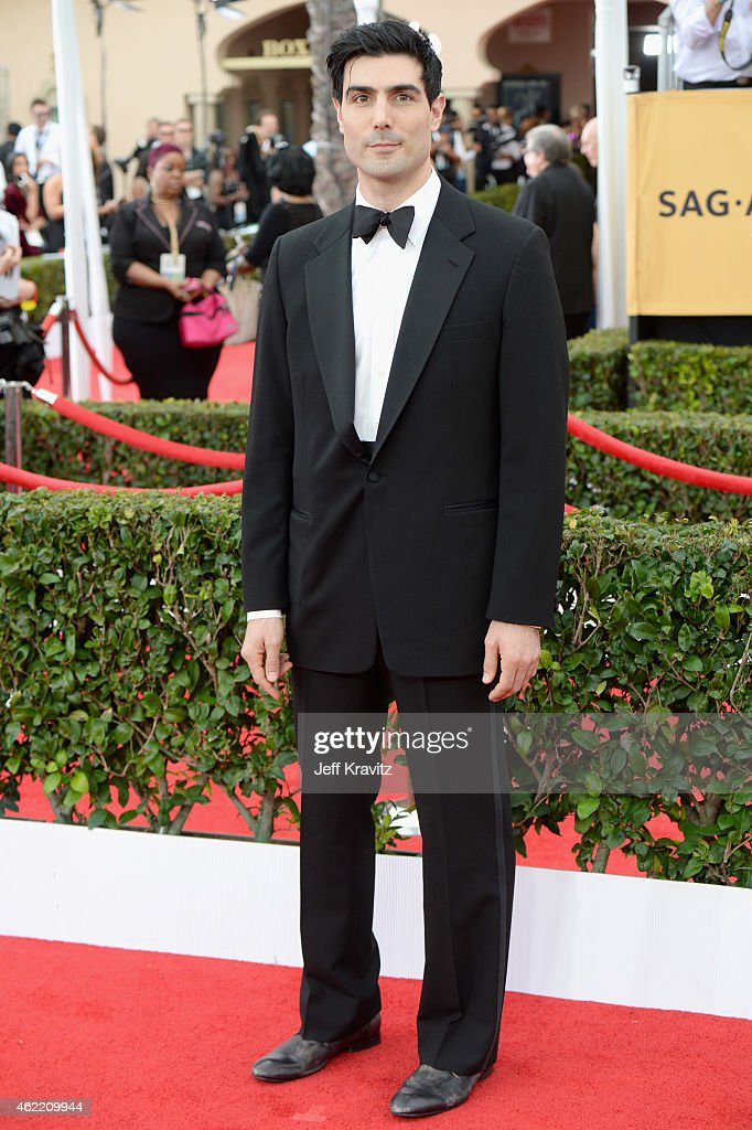 Actor Louis Cancelmi attends the 21st Annual Screen Actors Guild Awards at The Shrine Auditorium on January 25, 2015 in Los Angeles, California.