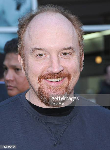 Actor Louis CK arrives at FX Network premiere of Wilfred and season two launch of Louie at ArcLight Hollywood on June 20 2011 in Hollywood California