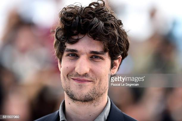 Actor Louis Garrel attends the From The Land Of The Moon photocall during the 69th annual Cannes Film Festival at the Palais des Festivals on May 15...