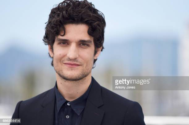 Actor Louis Garrel attends the 'Redoubtable ' photocall during the 70th annual Cannes Film Festival at Palais des Festivals on May 21 2017 in Cannes...