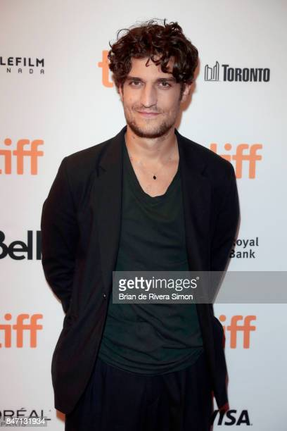 Actor Louis Garrel attends the 'Redoubtable' premiere during the 2017 Toronto International Film Festival at The Elgin on September 14 2017 in...