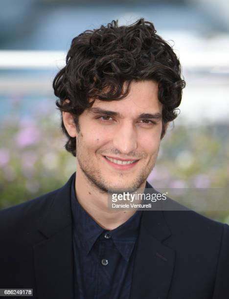 Actor Louis Garrel attends the 'Redoutable ' photocall during the 70th annual Cannes Film Festival at Palais des Festivals on May 21 2017 in Cannes...