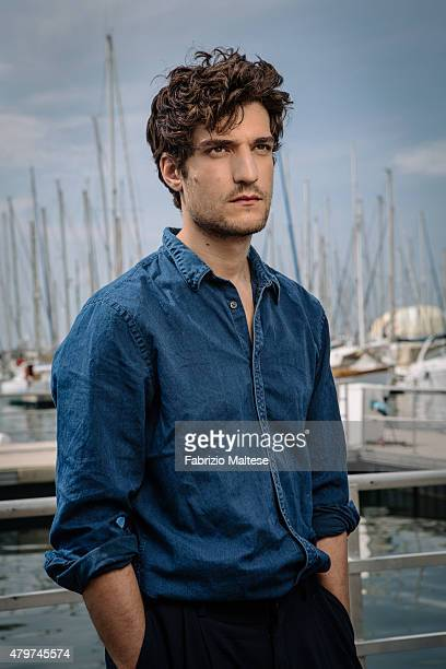 Actor Louis Garrel is photographed for The Hollywood Reporter on May 15 2015 in Cannes France
