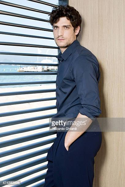 Actor Louis Garrel is photographed on May 17 2015 in Cannes France