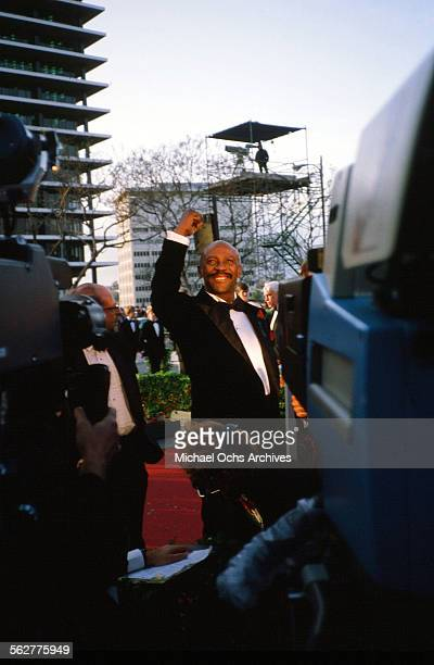 Actor Louis Gossett Jr arrives to the 55th Academy Awards at Dorothy Chandler Pavilion in Los AngelesCalifornia