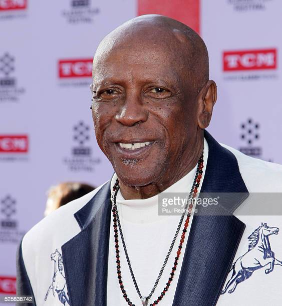 """Actor Louis Gossett Jr. Arriving at the TCM Classic Film Festival 2016 Opening Night Gala 40th Anniversary Screening Of """"All The President's Men"""" at..."""