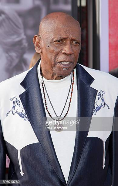 Actor Louis Gossett Jr arriving at the TCM Classic Film Festival 2016 Opening Night Gala 40th Anniversary Screening Of All The President's Men at TCL...