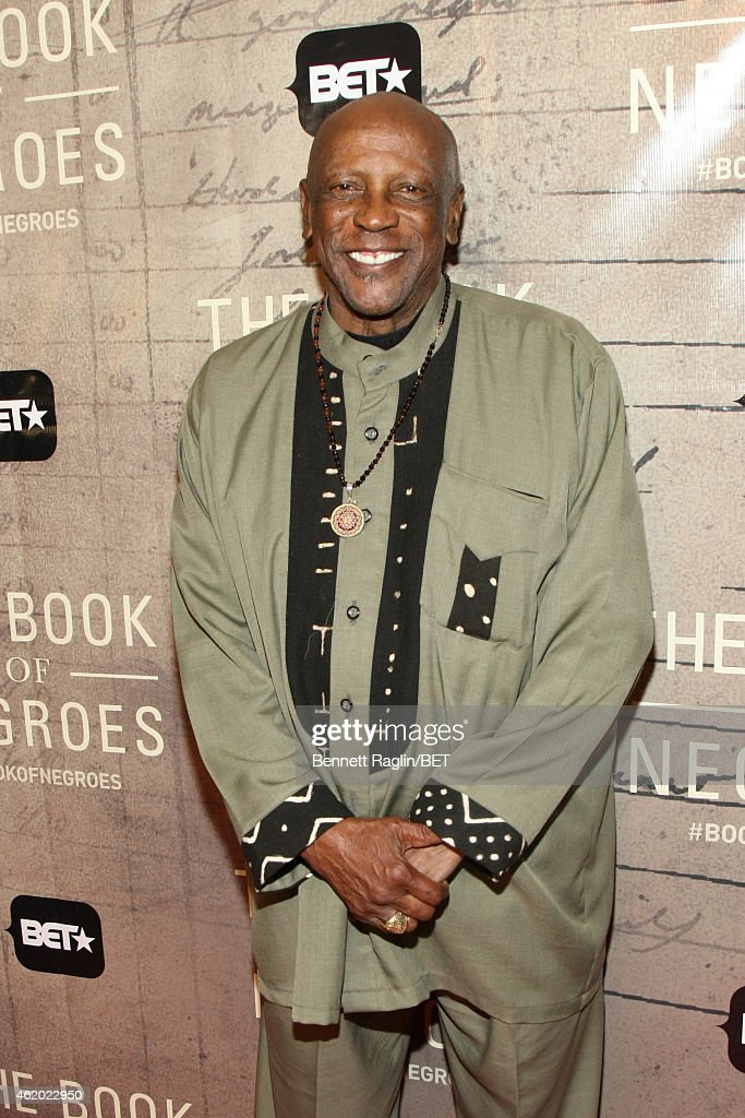 Actor Louis Gossett Jr. attends 'The Book of Negroes' screening reception at The National Archives on January 22, 2015 in Washington, DC.
