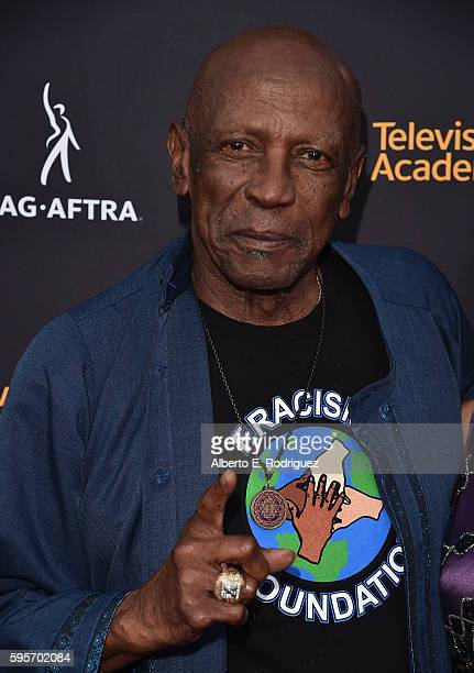 Actor Louis Gossett Jr attends the Television Academy And SAGAFTRA's 4th Annual Dynamic and Diverse Celebration at The Saban Media Center on August...