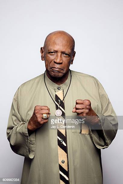 Actor Louis Gossett Jr from the film 'King of the Dance Hall' poses for a portraits at the Toronto International Film Festival for Los Angeles Times...