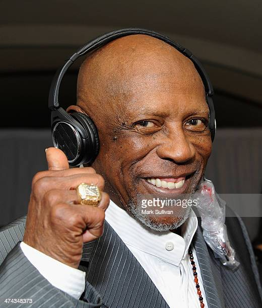 Actor Louis Gossett Jr in Backstage Creations Retreat At The 45th NAACP Image Awards on February 22 2014 in Pasadena California