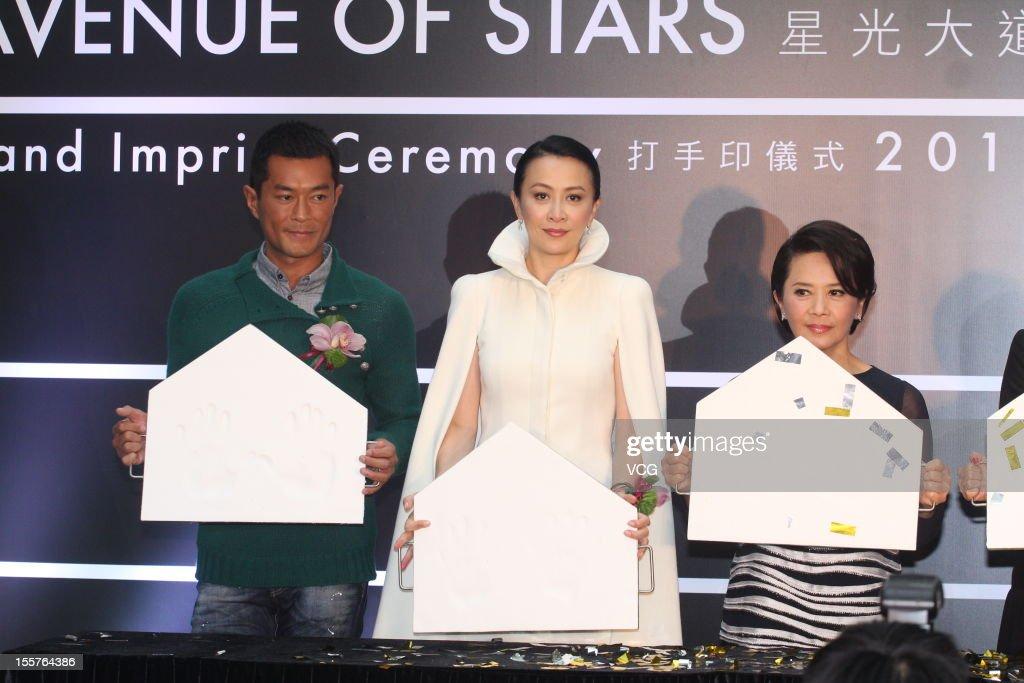 Avenue Of Stars Hand Imprint Ceremony