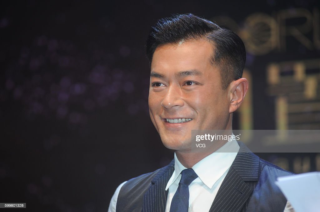 Louis Koo And Lynn Hung Attend Commercial Party In Shanghai