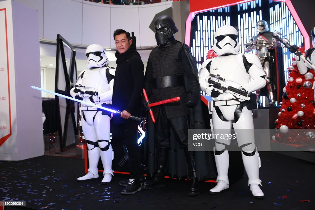 Louis Koo Attends 'Star Wars: The Last Jedi' Hong Kong Premiere