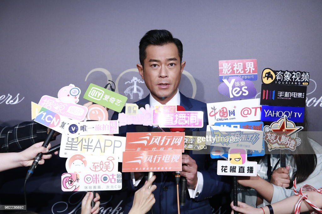 Actor Louis Koo Tin-lok attends Brooks Brothers 200 event at HKRI Taikoo Hui on May 24, 2018 in Shanghai, China.