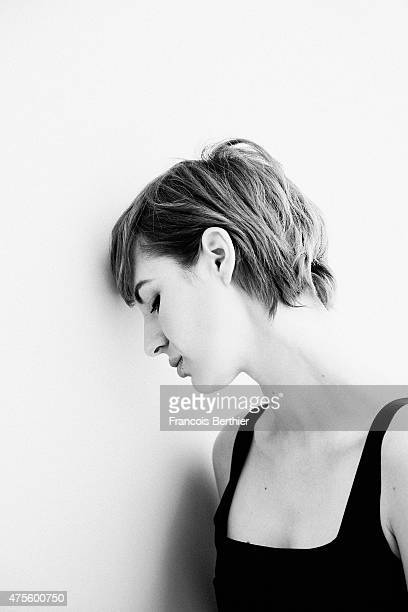 Actor Louise Bourgoin is photographed on May 21 2015 in Cannes France