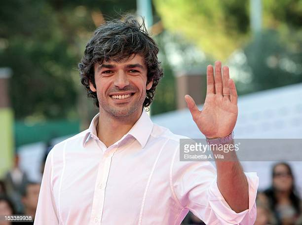 Actor Luca Argentero attends the 2012 RomaFictionFest at Auditorium Parco della Musica on October 4 2012 in Rome Italy
