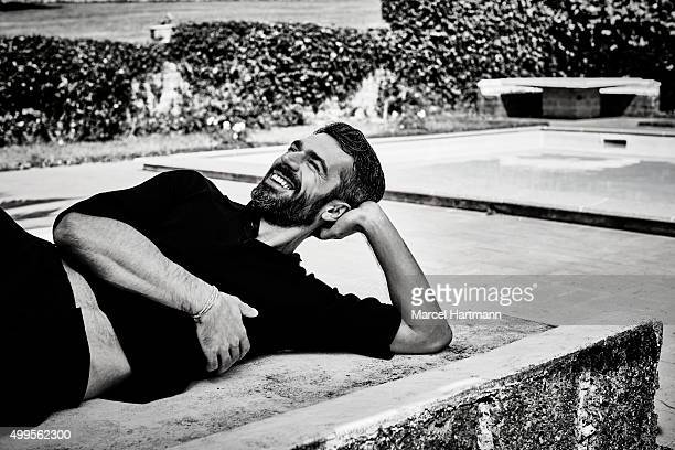 Actor Luca Argentero is photographed for Vanity Fair Italy on September 8 2015 in Rome Italy