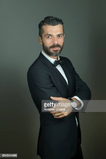 Actor Luca Argentero is photographed on September 3 2015 in Rome Italy