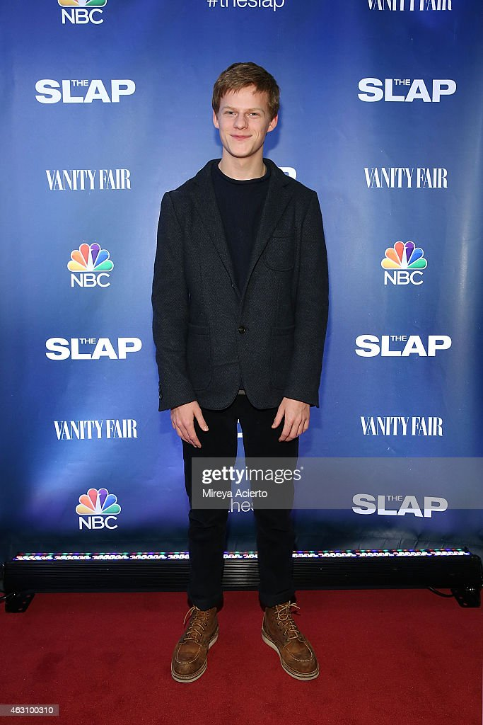 Actor Luca Hedges attends 'The Slap' New York Premiere Party at The New Museum on February 9, 2015 in New York City.