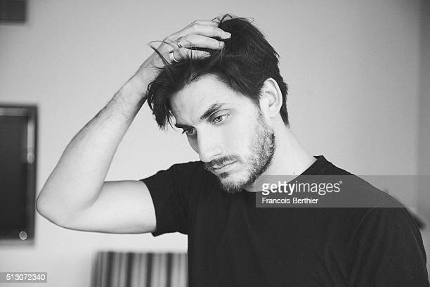 Actor Luca Marinelli is photographed for Self Assignment on February 19, 2016 in Berlin, Germany.