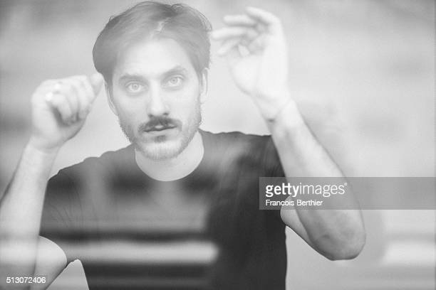 Actor Luca Marinelli is photographed for Self Assignment on February 19 2016 in Berlin Germany