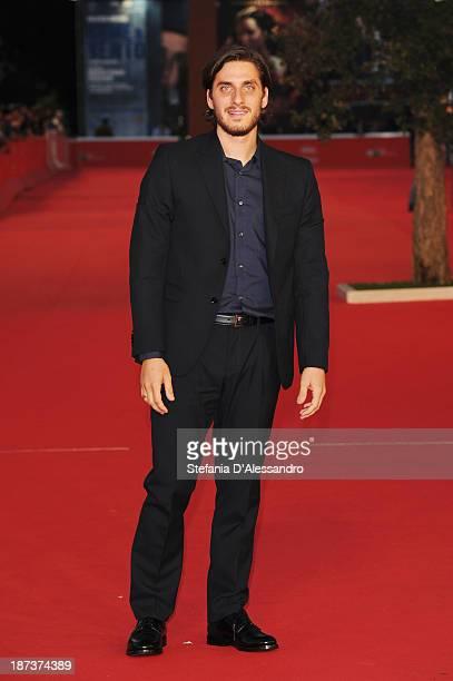 Actor Luca Marinelliattends 'Il Mondo Fino In Fondo' Premiere during The 8th Rome Film Festival on November 8, 2013 in Rome, Italy.