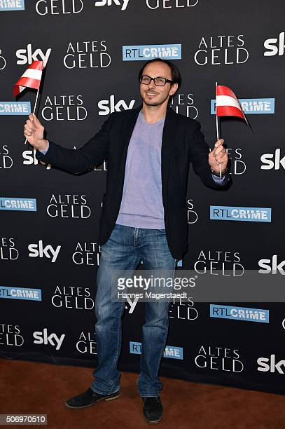 Actor Luca Verhoeven attends the German premiere of the tv show 'Altes Geld' at Hotel Bayerischer Hof on January 26 2016 in Munich Germany