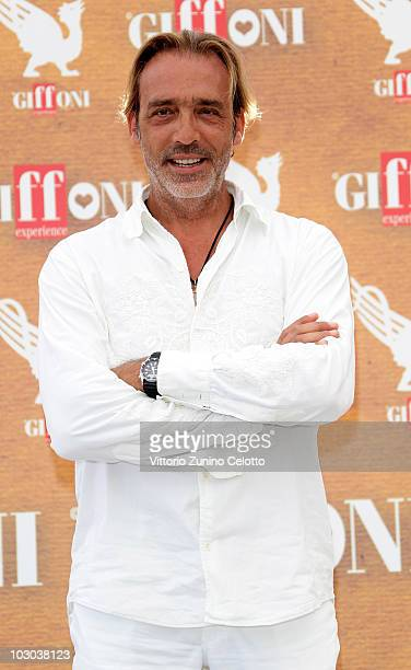 Actor Luca Ward attends a photocall during the Giffoni Experience 2010 on July 22 2010 in Giffoni Valle Piana Italy